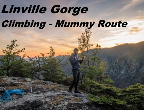Linville Rock Climbing – Mummy Route – Summit Seekers Experience
