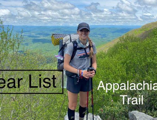 Appalachian Trail Lightweight Gear List: After 580 Miles